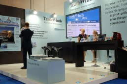 Tradewinds stand at Posidonia 2014
